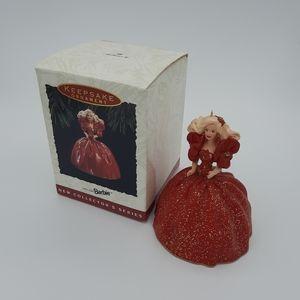 Holiday Barbie Hallmark Keepsake Ornament 1st 1993